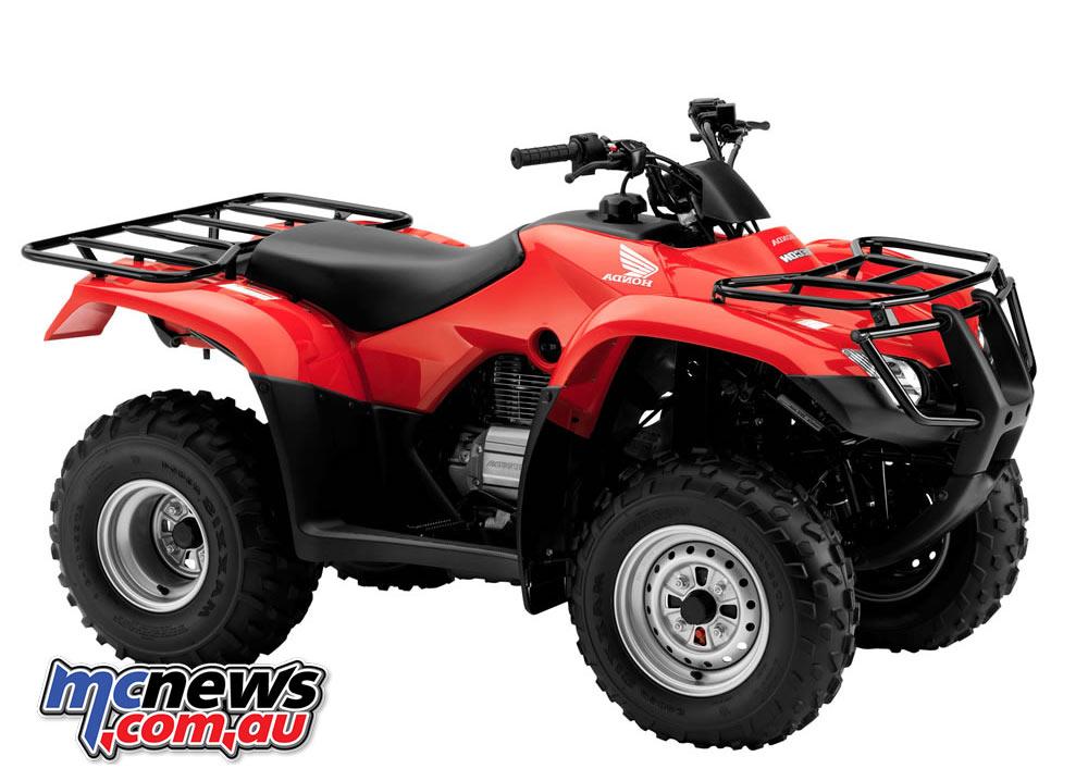 Honda's TRX250TM