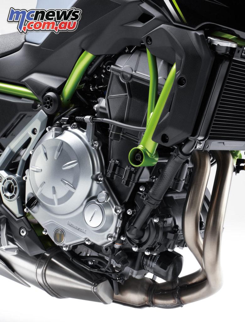 2017 Kawasaki Z650 - Liquid-cooled, DOHC, 8-valve 649cc Parallel Twin
