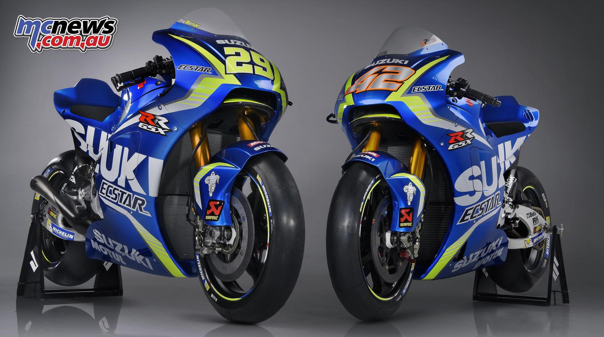 Team Suzuki Ecstar kicks off MotoGP effort   MCNews.com.au