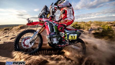 Honda Team reflects on 2017 Dakar effort