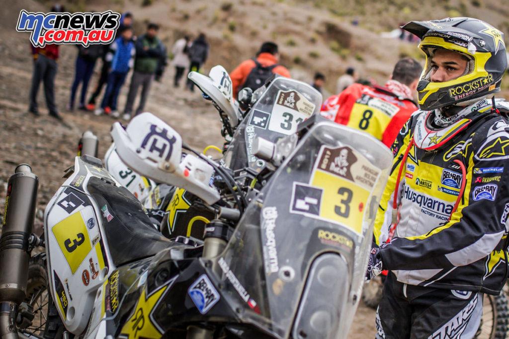 Dakar 2017 - Pablo Quintanilla
