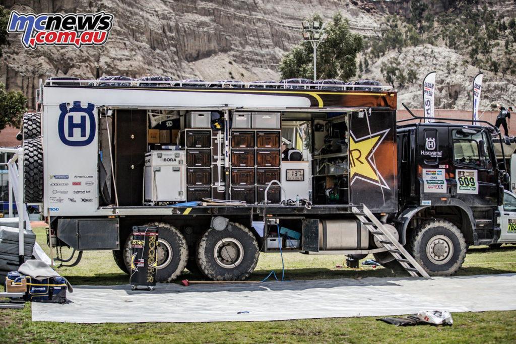 Dakar 2017 - Rockstar Energy Husqvarna Team