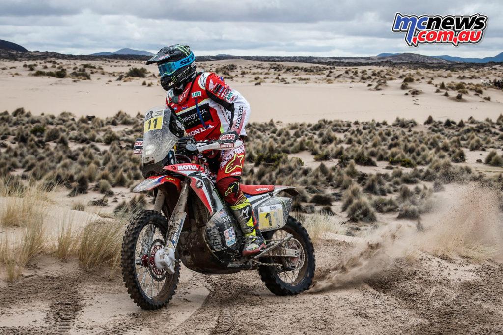 Dakar 2017 - Stage 7 - Joan Barreda