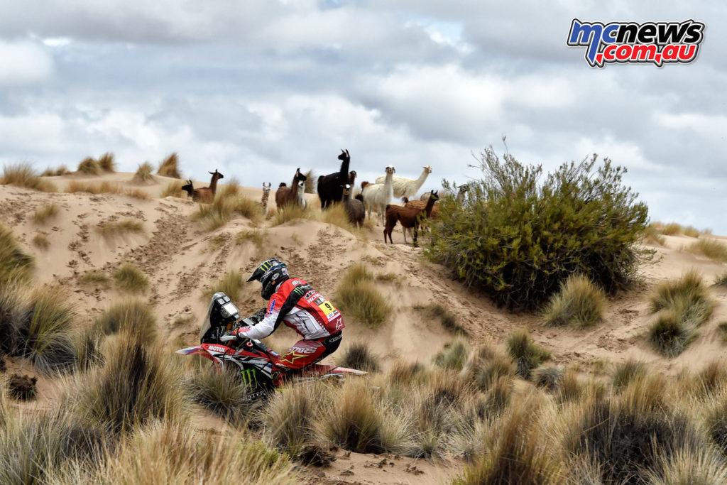 Dakar 2017 - Stage 7 - Ricky Brabec
