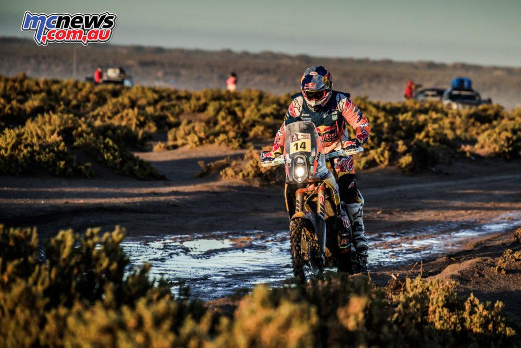 Dakar 2017 - Stage 8 - Sam Sunderland - Image: Marcin Kin