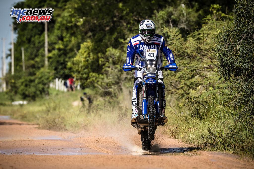 Dakar 2017 - Stage 1 - Rodney Faggotter - Image: Yamaha Racing