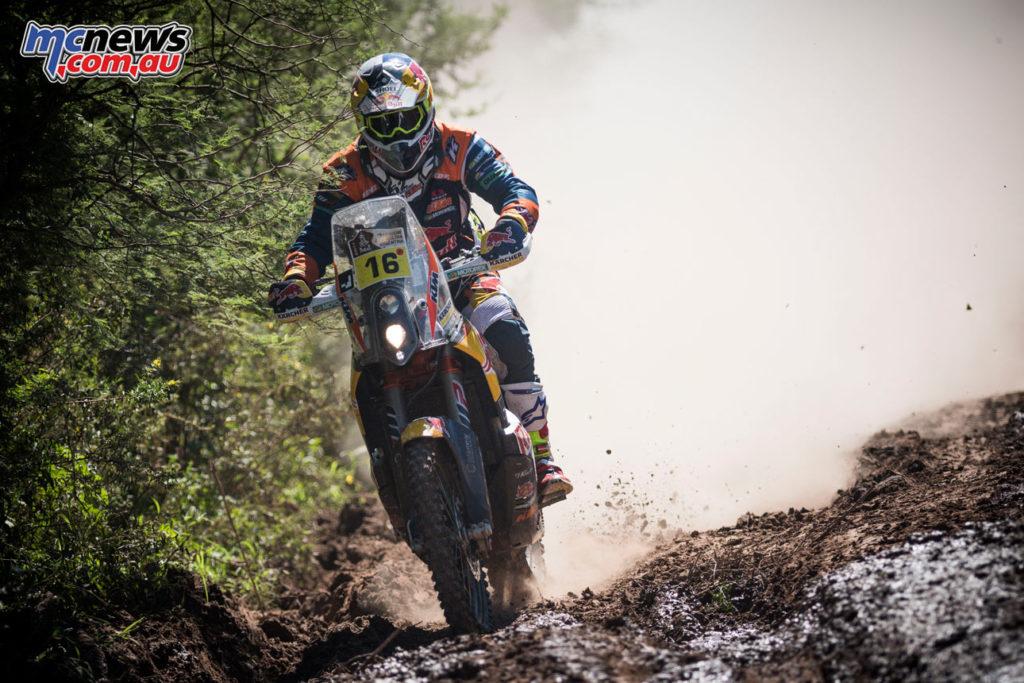Dakar 2017 - Stage 2 - Matthias Walkner - Image: Marcin Kin