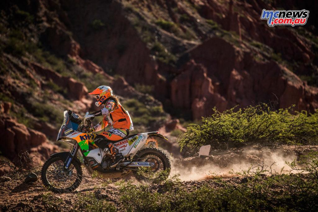 Dakar 2017 - Stage 4 - Laia Sanz - Image: Marcin Kin