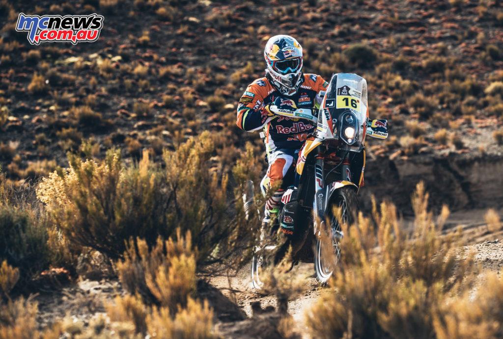 Dakar 2017 - Stage 4 - Matthias Walkner - Image: Flavien Duhamel
