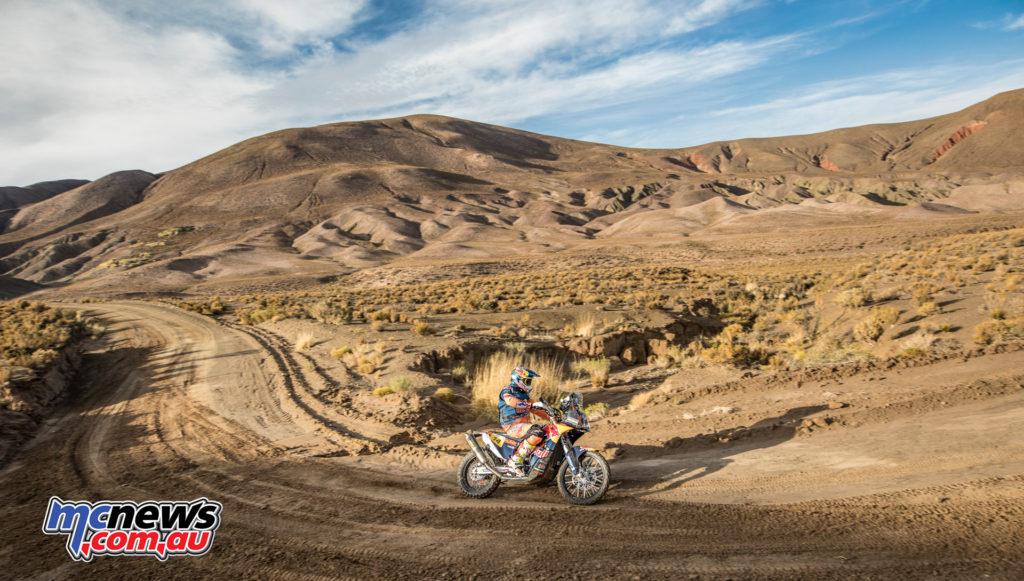 Dakar 2017 - Stage 4 - Sam Sunderland - Image: Flavien Duhamel