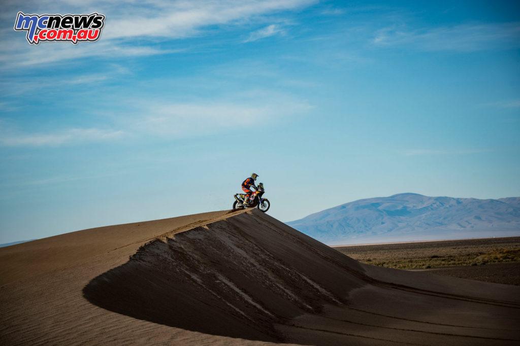 Dakar 2017 - Stage 4 - Toby Price - Image: Marcelo Maragni