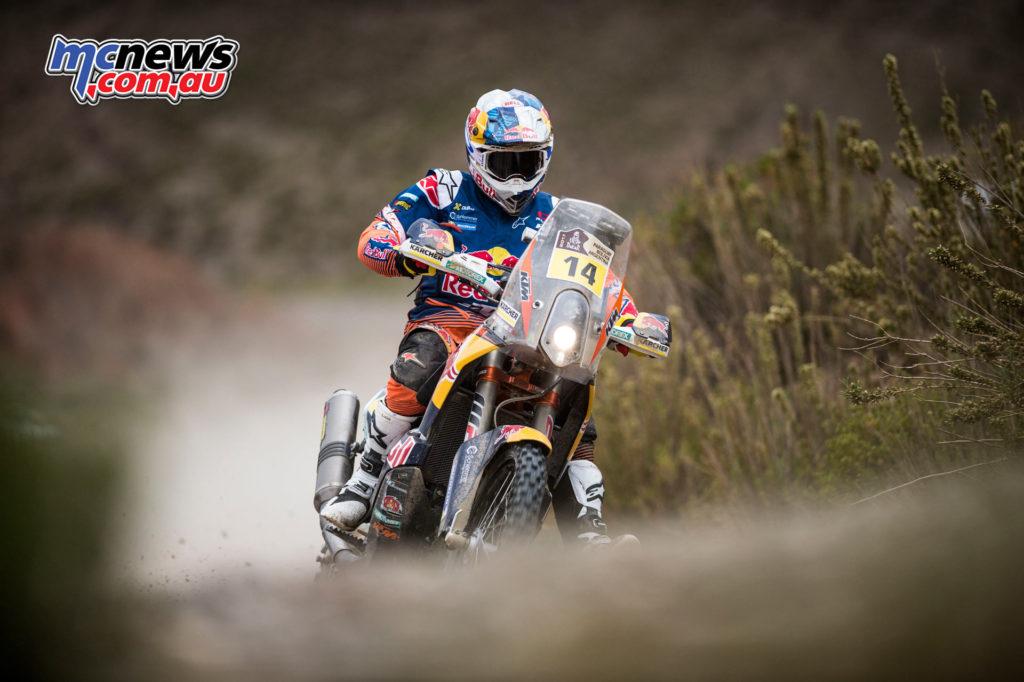 Dakar 2017 - Stage 5 - Sam Sunderland - Image: Marcelo Maragni