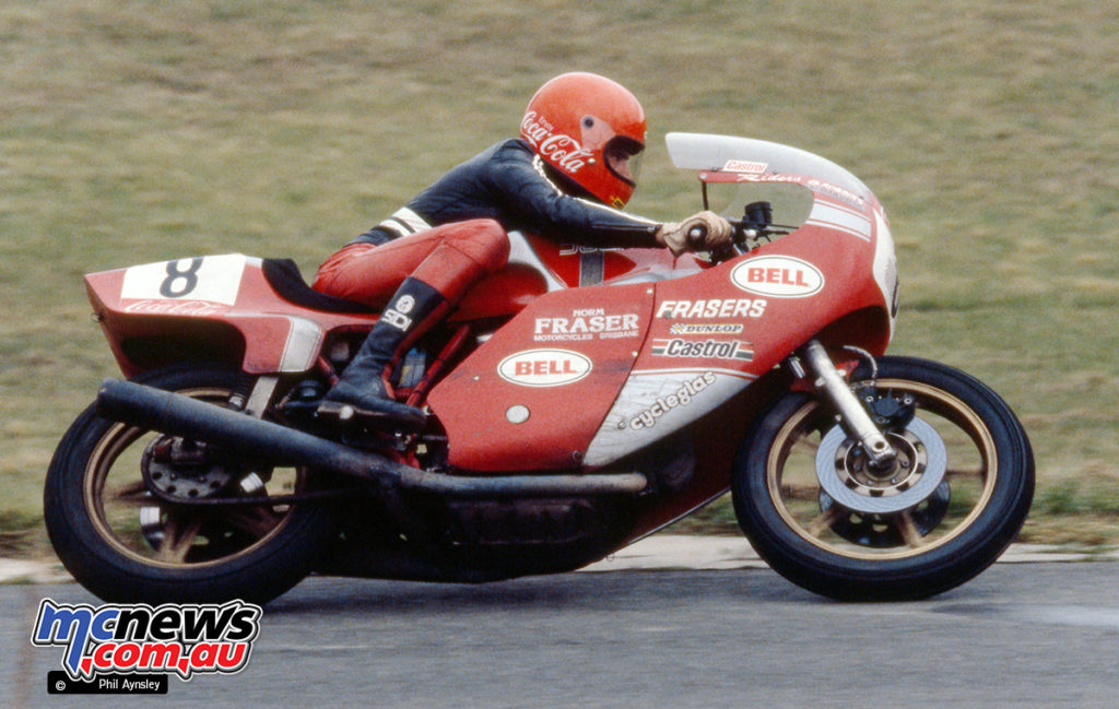 1980 Coca Cola 800 - Ducati 900NCR ridden by Dave Robbins and Wayne Gardner