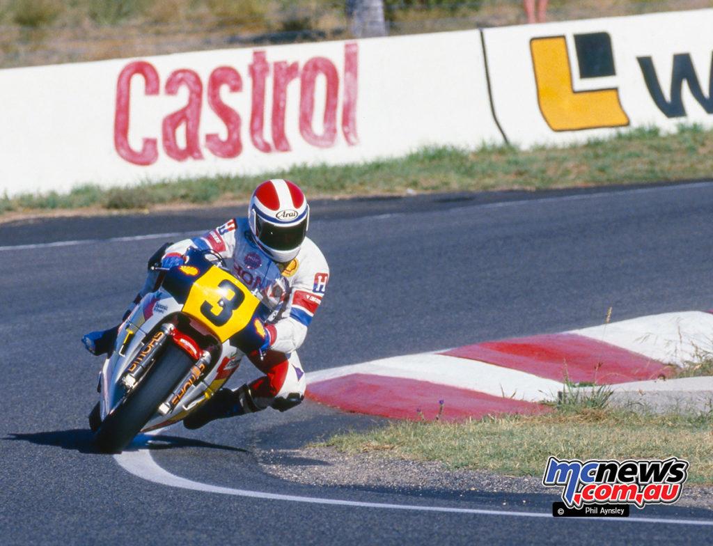 Bathurst 1986 - Malcolm Campbell/Honda RS500
