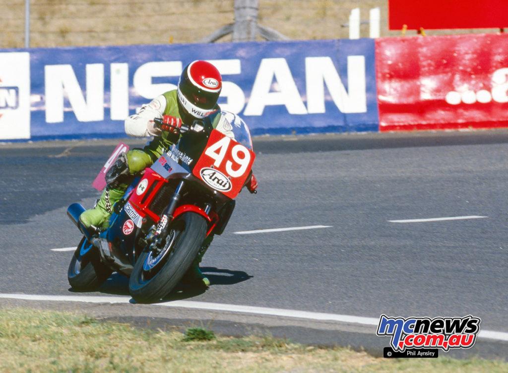 Bathurst 1986 - Len Willing/Kawasaki GPZ900