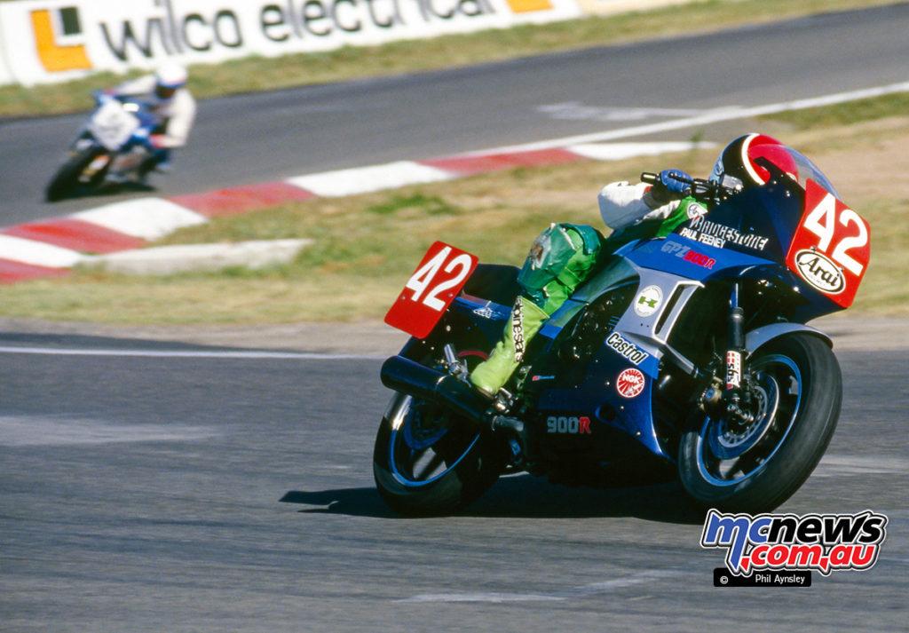 Bathurst 1986 - Paul Feeney/Kawasaki GPZ900