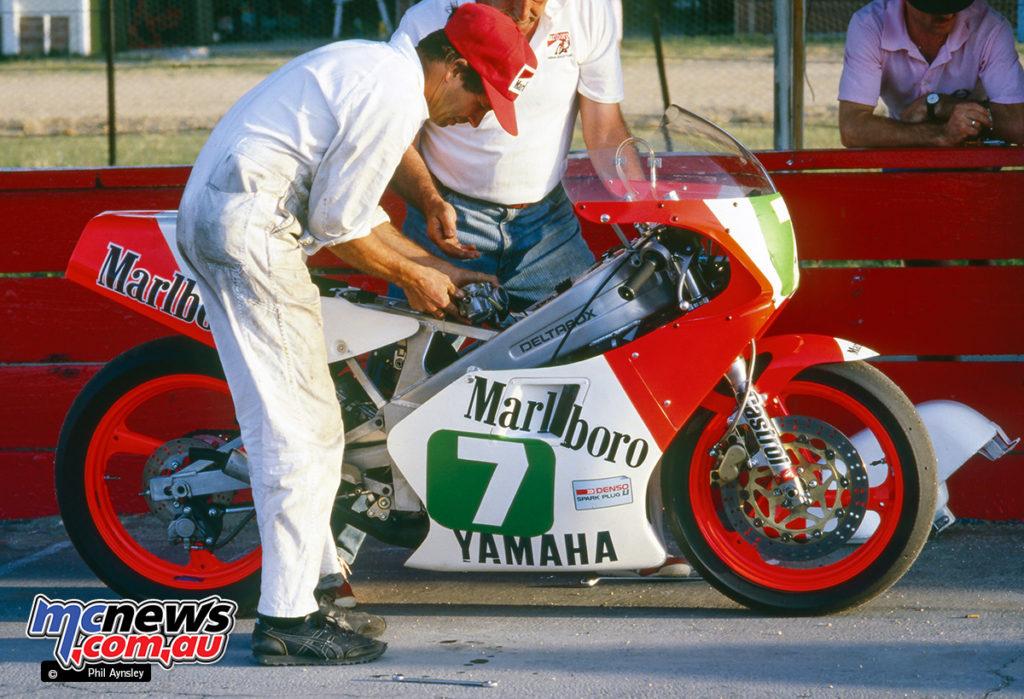 Bathurst 1986 - Michael Dowson's Yamaha TZ250