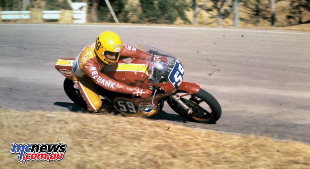 Ron Boulden Maxton 350, Hume Weir