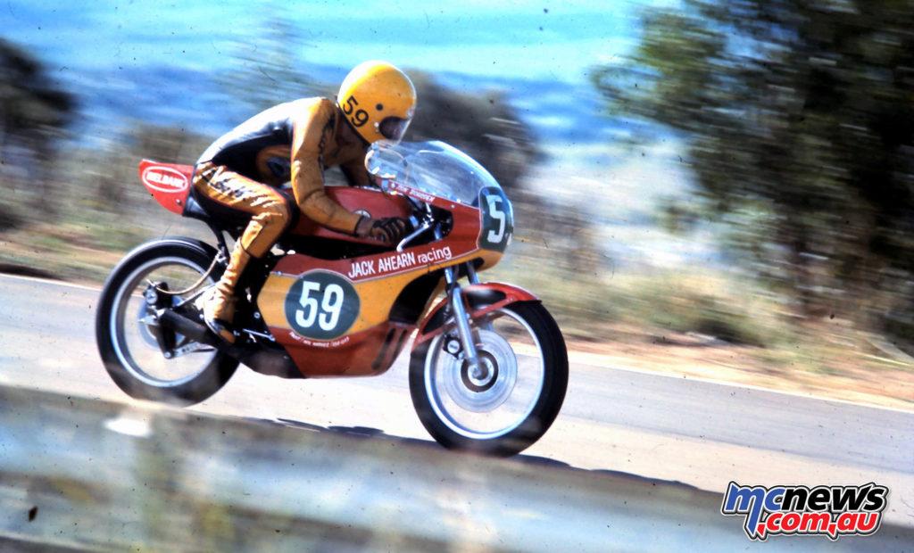 Ron Boulden on the TZ250 at Bathurst