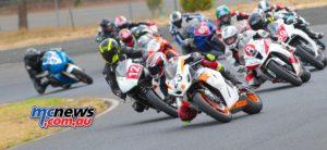 2017 Hartwell Championship - Rnd 1 - Superbike - Brook Coombs, Wayne Kulmar, Steve Rubinic, Alex Katakouzinos - Image: Cameron White