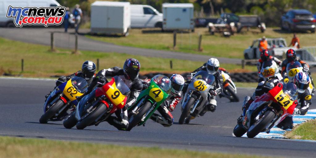 2017 Island Classic - 500cc New Era - Brendan Wilson, Tim Podt, Tom Bramich, Phillip Burke, Tom Bramich, Richard Molnar - Image: Cameron White