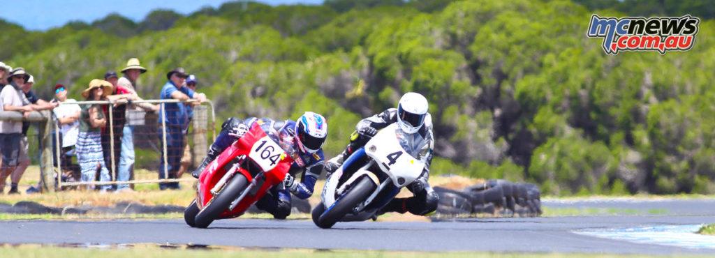 2017 Island Classic - Pablo's Motorcycle Tyres New Era Formula 750 - James Doddrell, Jack Twisse - Image: Cameron White