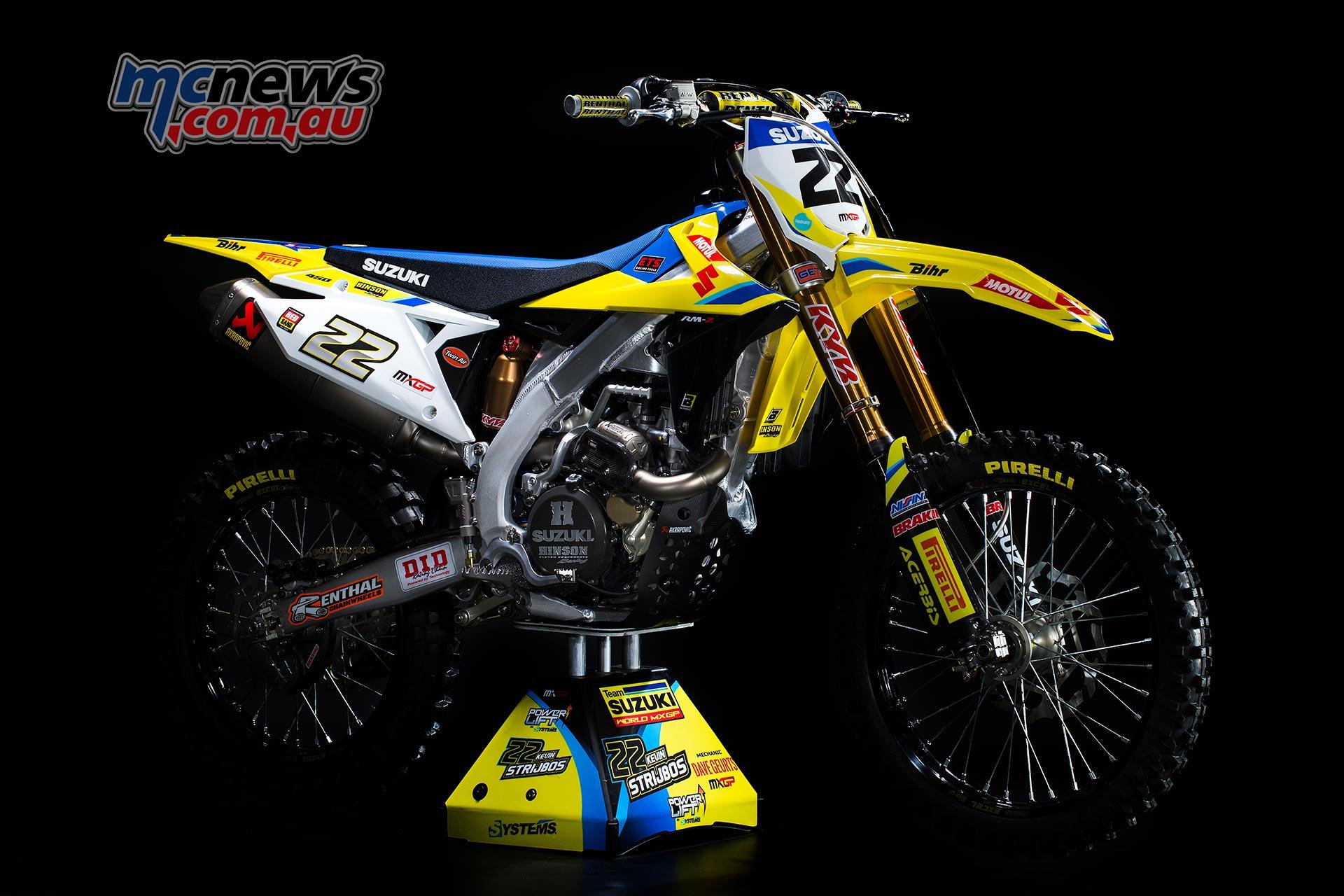 Suzuki reveal 2018 RM-Z450WS