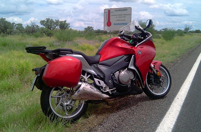 Riding Around Australia - Cloncurry