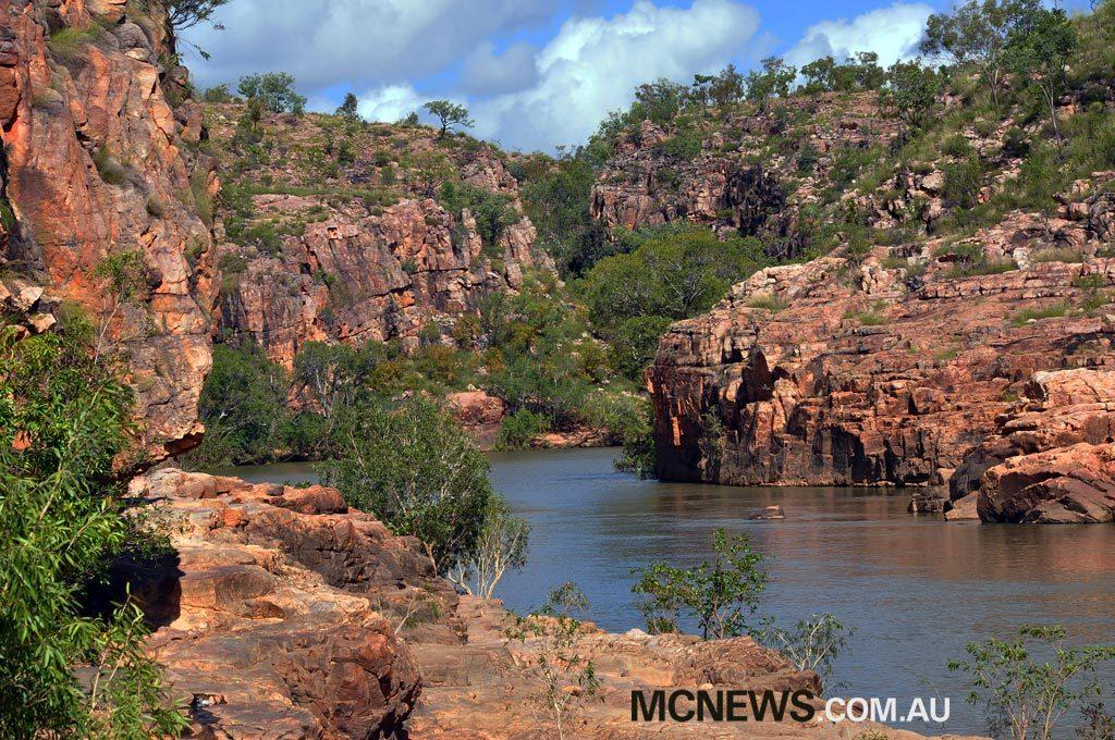 Riding Around Australia - Picturesque Mitmiluk
