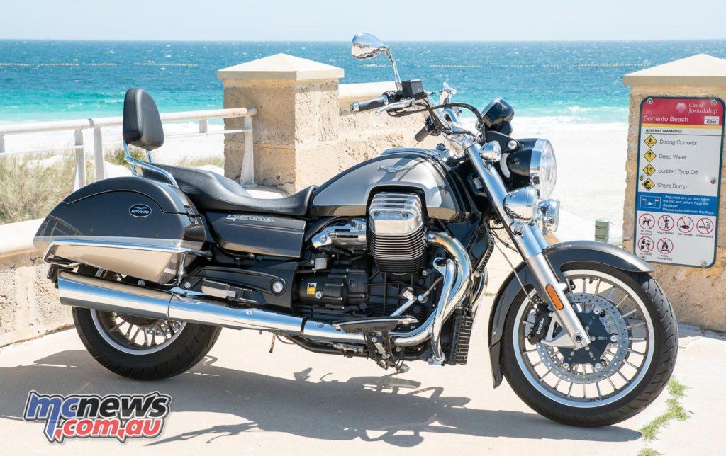 Moto Guzzi California Touring SE (with screen removed)