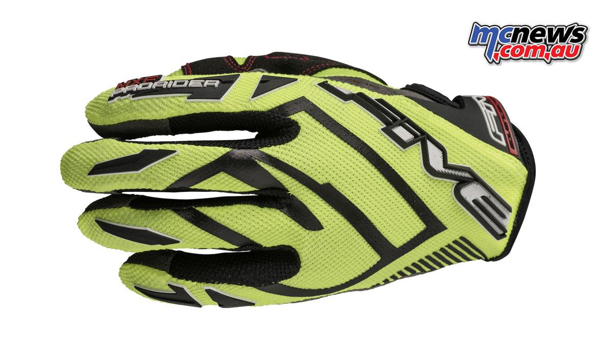 Five MXF ProRider S gloves - Fluro Yellow