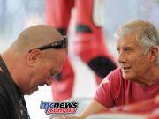 Boris in the presence of greatness, Giacomo Agostini