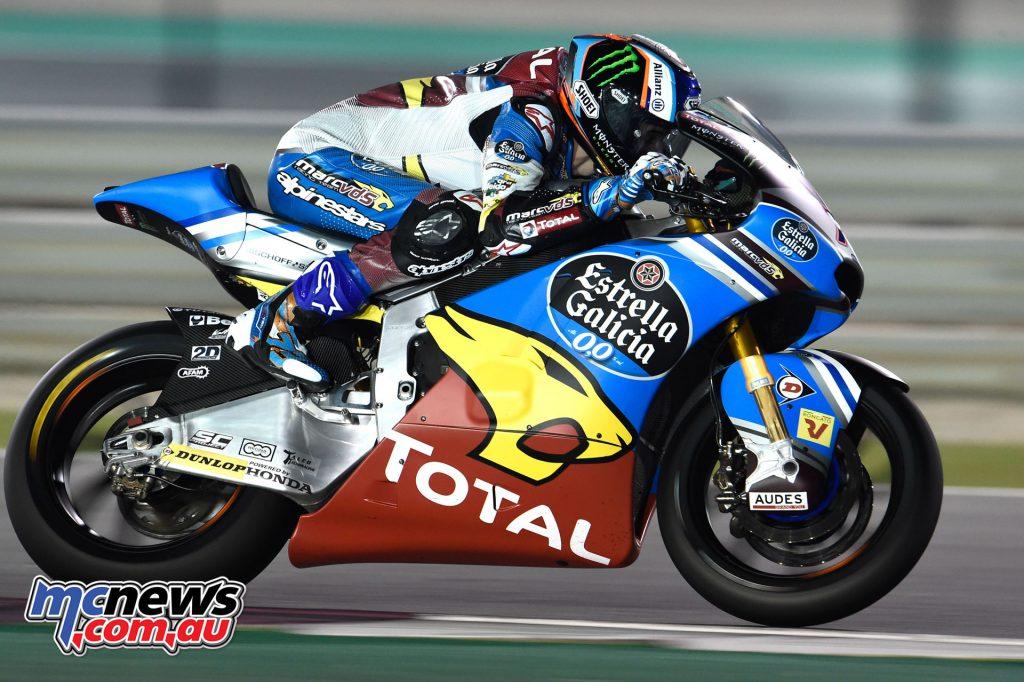 Moto2 Qatar Test - Alex Marquez