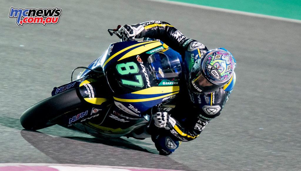 Moto2 Qatar Test - Remy Gardner