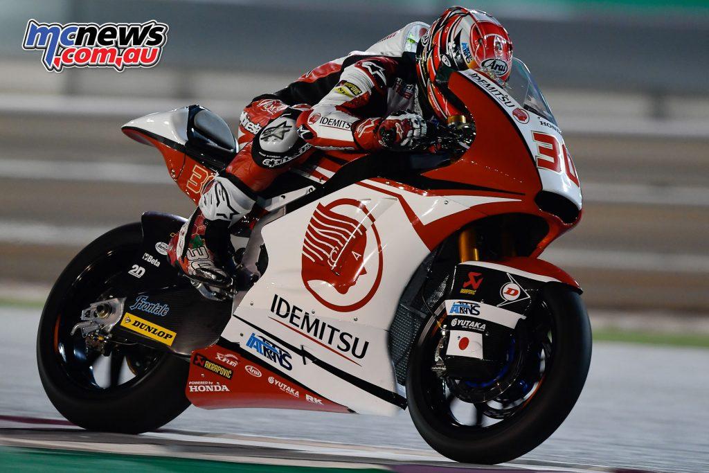 Moto2 Qatar Test - Takaaki Nakagami