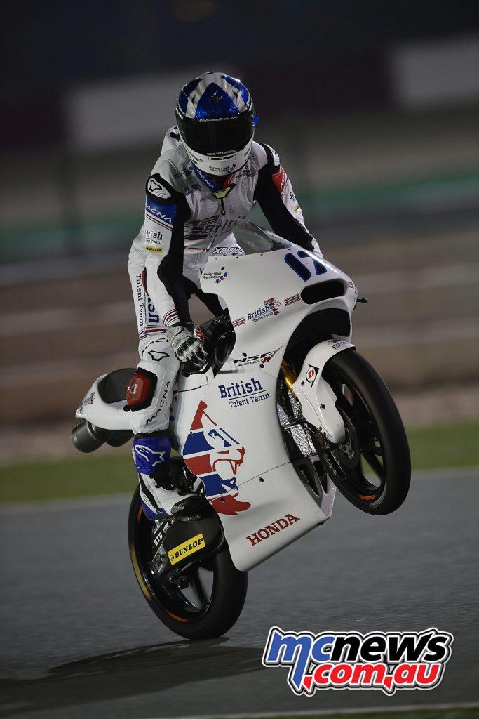 Moto3 Qatar Test - John McPhee