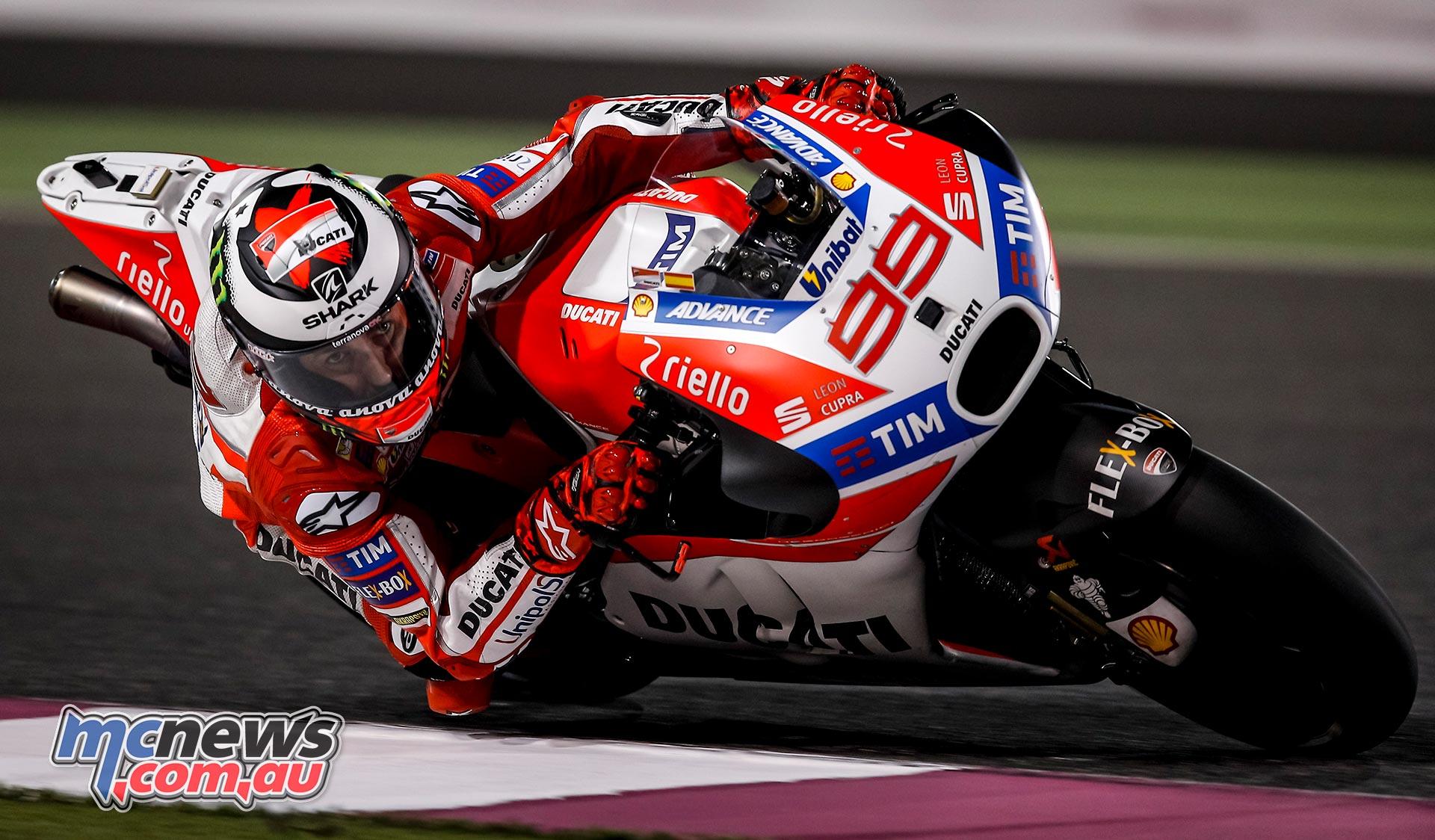 Vinales tops Qatar Day 2 | New Ducati nose steals show | MCNews.com.au