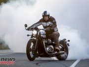 Triumph Bobber Trev