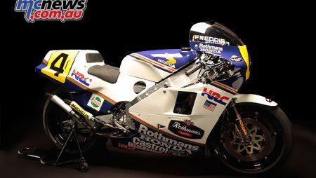 Freddie Spencer 1985 NSR500 | Championship winner