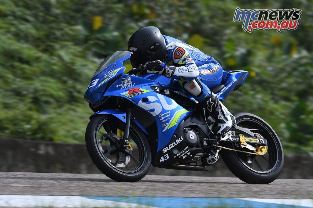 Suzuki Asian Challenge - Edward Faulkhead