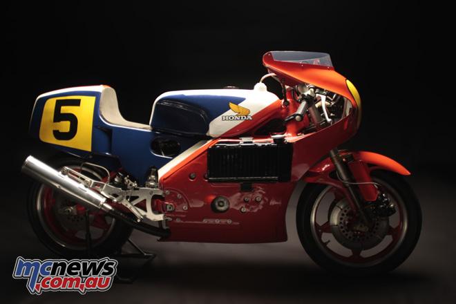 1979 Honda NR500 ridden by Takazumi Katayama