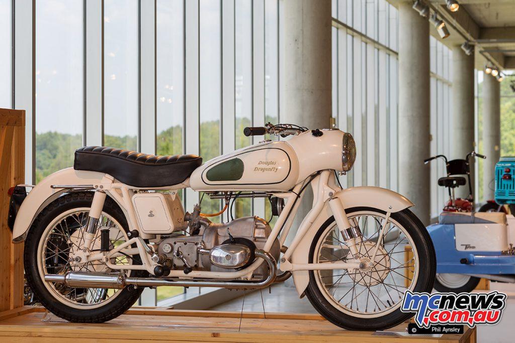 The Barber Vintage Motorsports Museum - 1957 Douglas Dragonfly 350