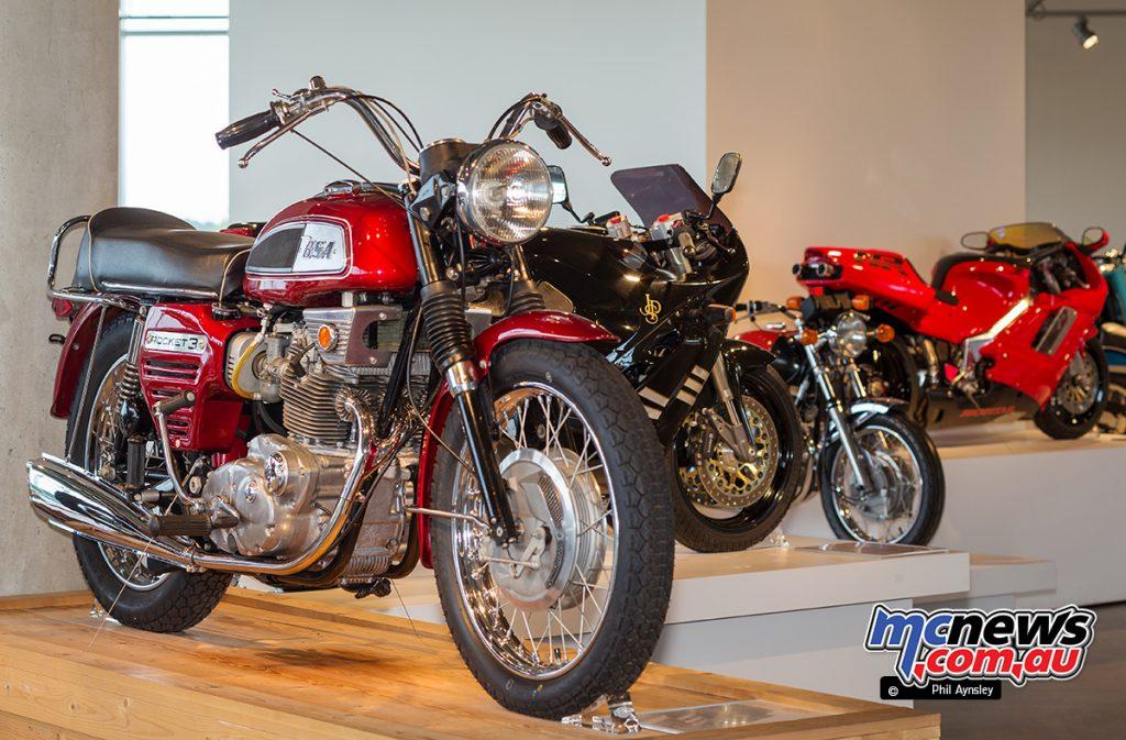 The Barber Vintage Motorsports Museum - 1969 BSA 750 Rocket 3