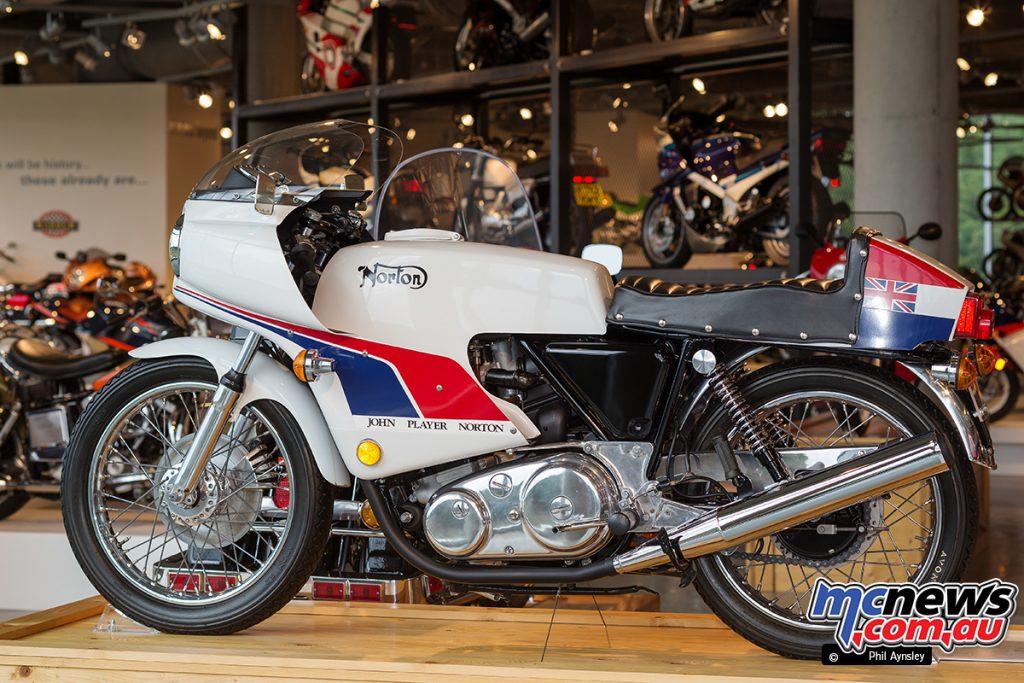 The Barber Vintage Motorsports Museum - 1974 Norton Commando 850 JPS
