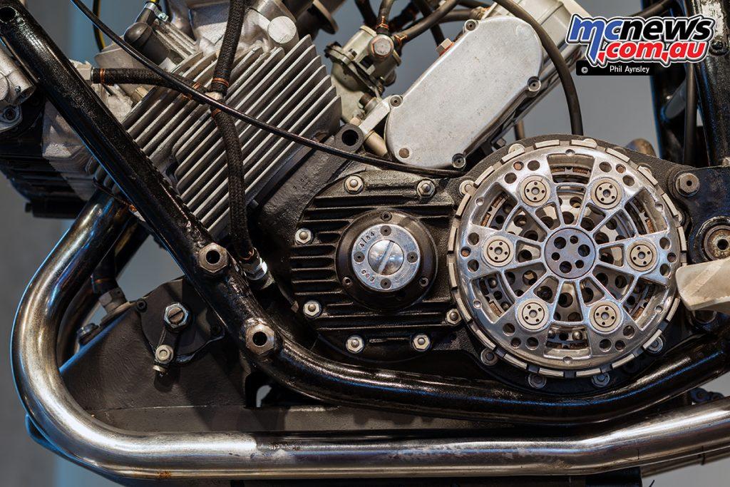 The Barber Vintage Motorsports Museum - 1954 AJS E95