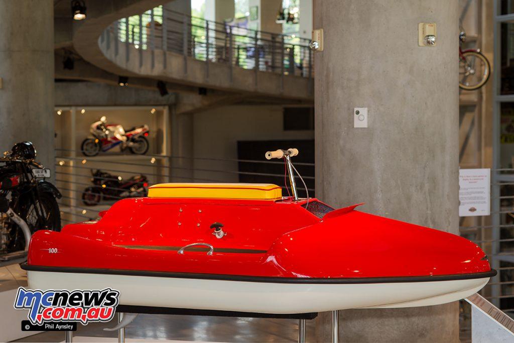 The Barber Vintage Motorsports Museum - 1957 Vincent Amanda water scooter