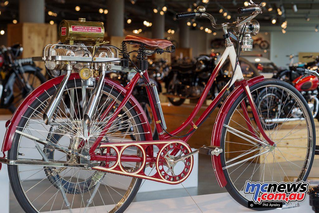 The Barber Vintage Motorsports Museum - 1919 Johnson Motor Wheel