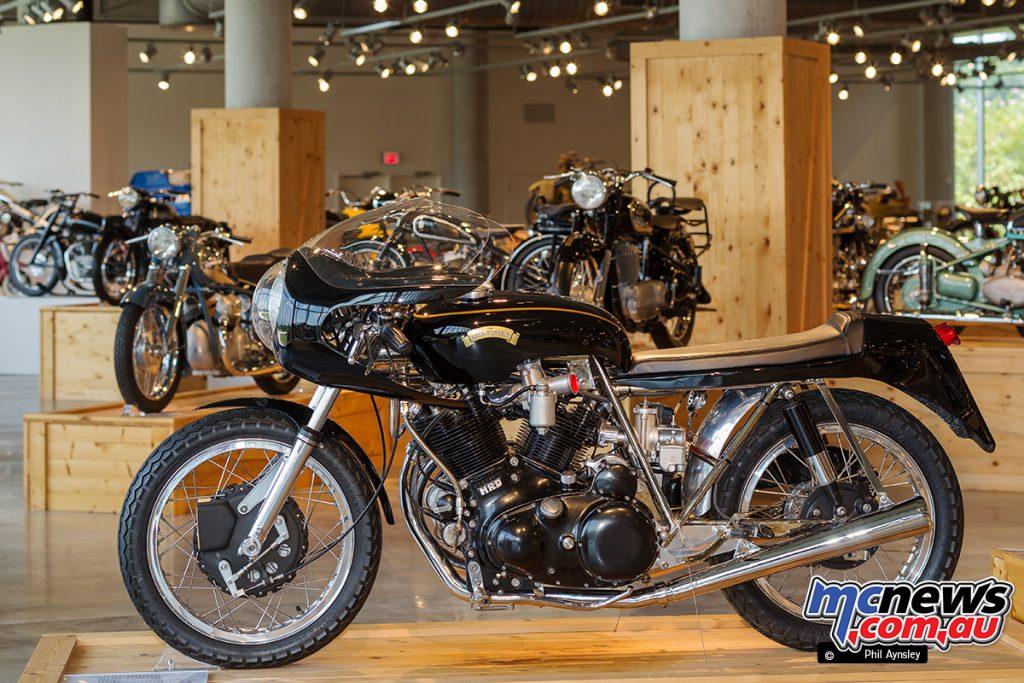 The Barber Vintage Motorsports Museum - Egli-Vincent 998