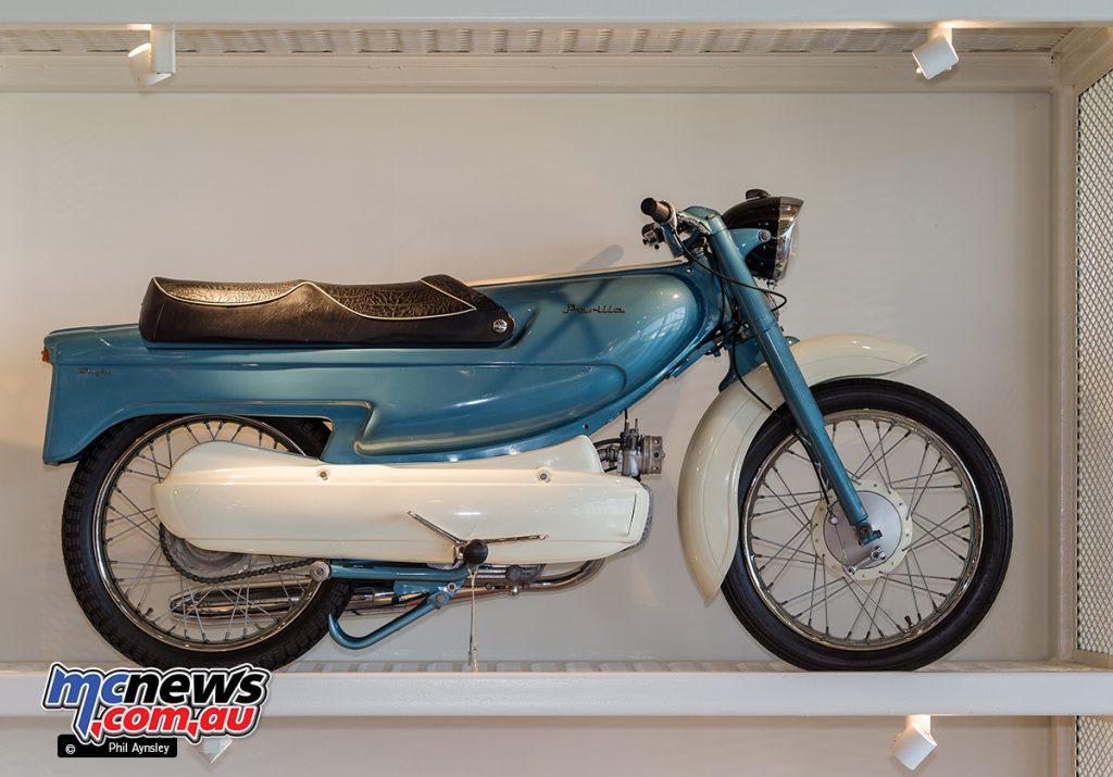 The Barber Vintage Motorsports Museum - Parilla Slughi 125