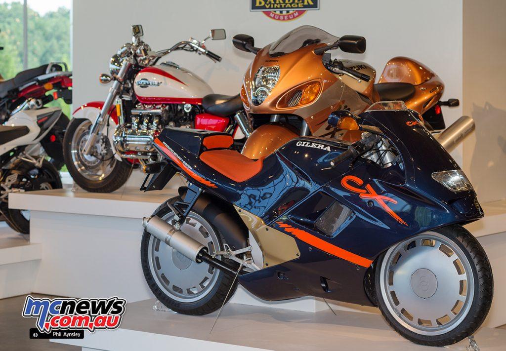 The Barber Vintage Motorsports Museum - Gilera CX 125